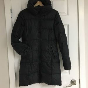 Jacob quilted down-filled puffer jacket, size XS.
